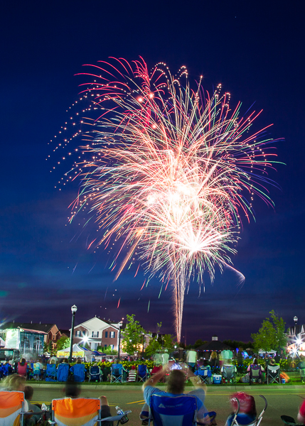 Fireworks at Downtown Wixom MI